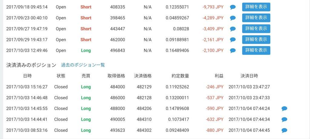 仮想通貨短期トレード16日目